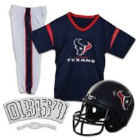 NFL Houston Texans Youth Medium Deluxe Uniform Set