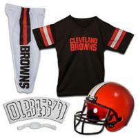 NFL Cleveland Browns Youth Small Deluxe Uniform Set