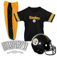 NFL Pittsburgh Steelers Youth Medium Deluxe Uniform Set