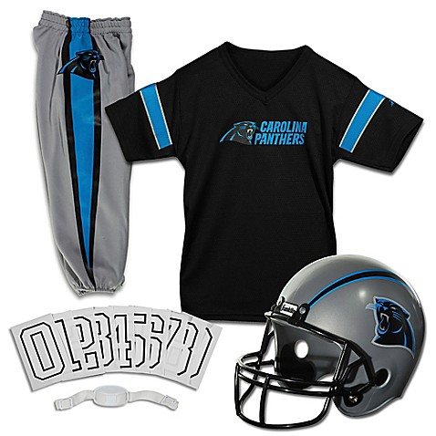 Nfl Carolina Panthers Youth Deluxe Uniform Set Bed Bath
