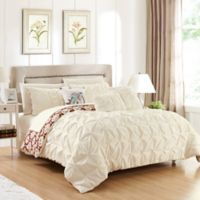 Chic Home Rahab Reversible 8-Piece Twin Comforter Set in Beige