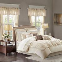 Madison Park Essentials Joella 24-Piece King Comforter Set in Ivory