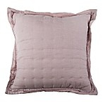 Wamsutta® Vintage Cotton Cashmere Square Throw Pillow in Rose