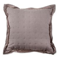 Wamsutta® Vintage Cotton Cashmere Square Throw Pillow in Mink