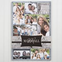 Family Photo Memories 16-Inch x 20-Inch Canvas Print Wall Art