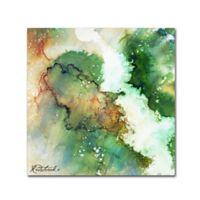 Jennifer Redstreake Forest 14-Inch Square Canvas Wall Art