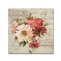 Lisa Audit PS Je T'aime Light I 14-Inch Square Canvas Wall Art