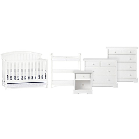 Child Craft Delaney Nursery Furniture Collection In Matte White Buybuy Baby