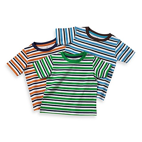 BE BASICTM Toddler Boys Striped Tees