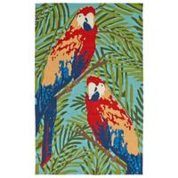 Kaleen Yunque Brazil 2-Foot x 3-Foot Indoor/Outdoor Multicolor Accent Rug
