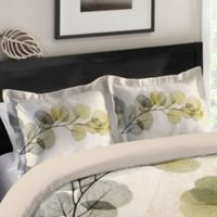 Laural Home® Smoky X-Ray of Eucalyptus Leaves Standard Pillow Sham