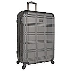 Ben Sherman Nottingham 28-Inch Hardside Suitcase in Charcoal
