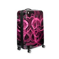 ful® Atomic 20-Inch Hardside Spinner Carry On Luggage in Pink