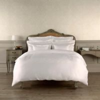 Christy Lifestyle Richmond Queen Duvet Cover in White