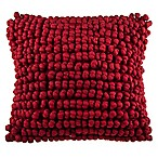 Manning Square Throw Pillow in Red