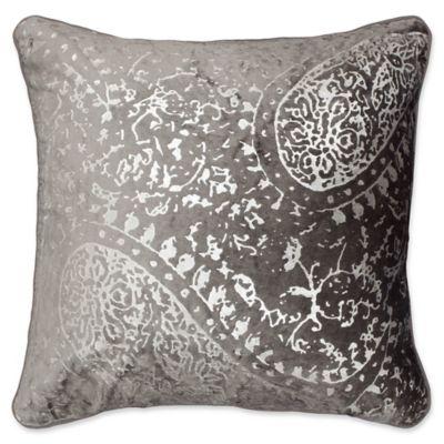 jean pierre ashlyn square throw pillow in light grey