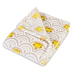 Trend Lab® Art Deco Lions Scallop Baby Blanket