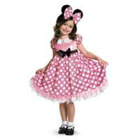 Minnie Mouse Glow In The Dark Dot Dress Medium Child's Halloween Costume