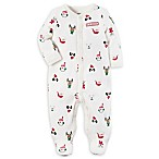 carter's® Size 9M  My 1st Christmas  Footie in White