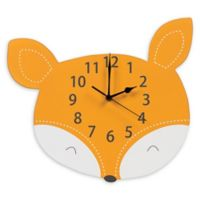 Trend Lab® Forest Tales Fox Wall Clock in Orange