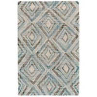 Feizy Baltum 9-Foot 6-Inch x 13-Foot 6-Inch Hand-Tufted Area Rug in Blue