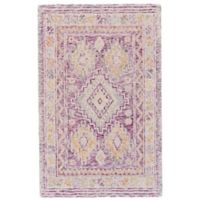 Feizy Baltum 9-Foot 9-Foot 6-Inch x 13-Foot 6-Inch Hand-Tufted Area Rug in Pink