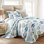 Levtex Home Breakwater King Quilt in White/Blue