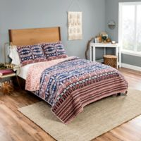 Vue® Yara Full/Queen Reversible Quilt Set in Blue