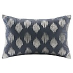 INK+IVY Alpine Oblong Throw Pillow in Navy