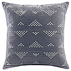 INK+IVY Alpine Square Throw Pillow in Navy