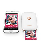 HP® Sprocket Photo Printer in White