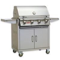 "Bull Grills Lonestar ""Select"" 30-Inch Natural Gas Grill with Cart"