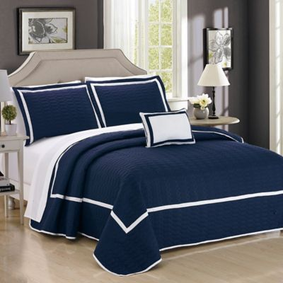 Buy Navy Blue Twin Quilt from Bed Bath & Beyond : navy twin quilt - Adamdwight.com