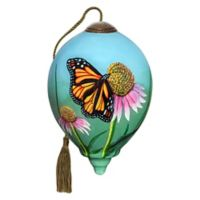 Ne'Qwa 3-Inch Petite Monarch Butterfly Ornament