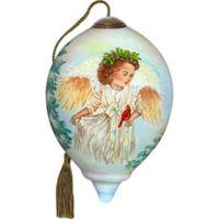 Ne'Qwa 3-Inch Petite Jolly Angel Ornament