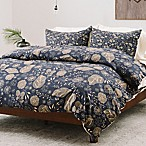 Deny Designs Iveta Abolina Crystalline Water King Duvet Cover in Blue