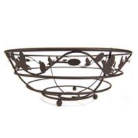 Home Basics® Bird & Flower Fruit Bowl