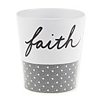 ED Ellen DeGeneres Words Tumbler in White/Grey