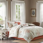 Madison Park Katalina Cotton Queen Comforter Set in Coral