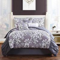 Studio 17 Province 7-Piece King Comforter Set in Grey