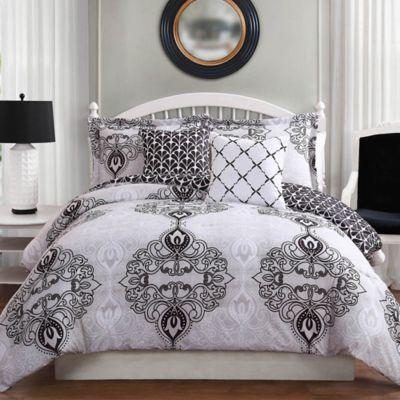 Queen Bedroom Comforter Sets buy gray queen bed comforter sets from bed bath & beyond