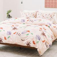Deny Designs Holli Zollinger Anthology of Pattern Seville Garden Light King Duvet Cover in Pink