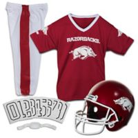 University of Arkansas Size Medium Youth Deluxe Uniform Set