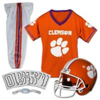 Clemson University Size Medium Youth Deluxe Uniform Set