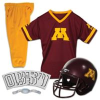 University of Minnesota Size Medium Youth Deluxe Uniform Set