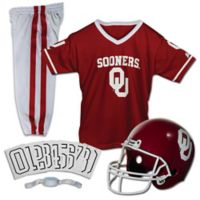 University of Oklahoma Size Small Youth Deluxe Uniform Set