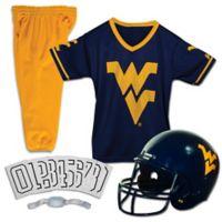 West Virginia University Size Medium Youth Deluxe Uniform Set