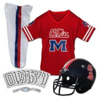 University of Mississippi Size Small Youth Deluxe Uniform Set