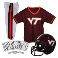 Virginia Tech University Size Medium Youth Deluxe Uniform Set