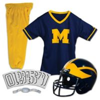 University of Michigan Size Medium Youth Deluxe Uniform Set